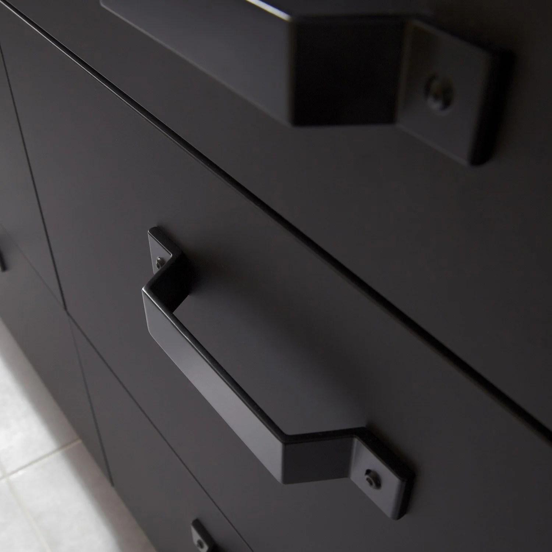 Porte Sous Vier De Cuisine Noir FS45 Mat Edition L45 X