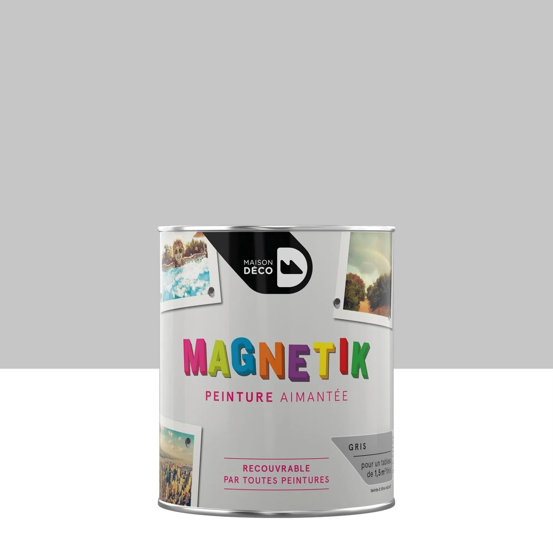 V P Produits Peinture Magnetique Gris Maison Deco Magnetik C Est Genial L E