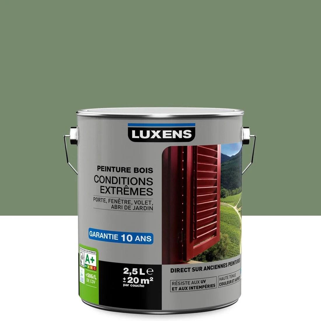 Peinture Bois Extrieur Conditions Extrmes LUXENS Vert