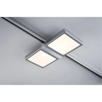 Spots et suspensions pour rail PAULMANN Panel double LED ...