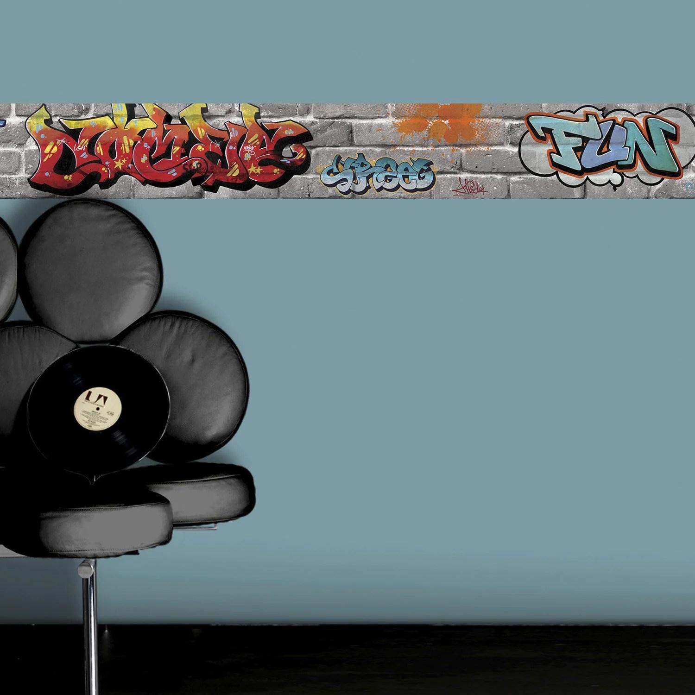 Frise vinyle adhsive Tag L5 m x l15 cm  Leroy Merlin
