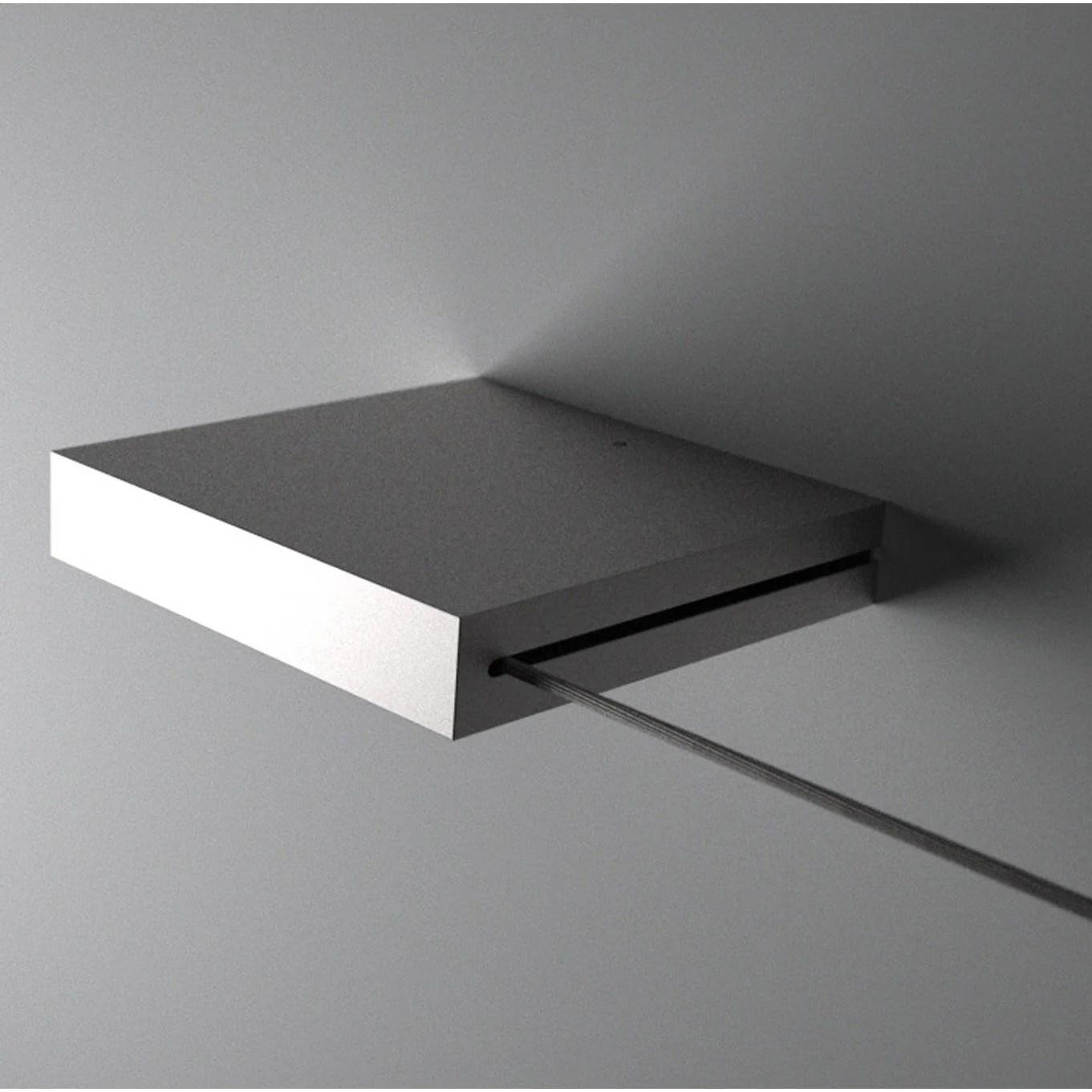 Cable Pour Mur Et Plafond Universel En Kit Nickel Mat