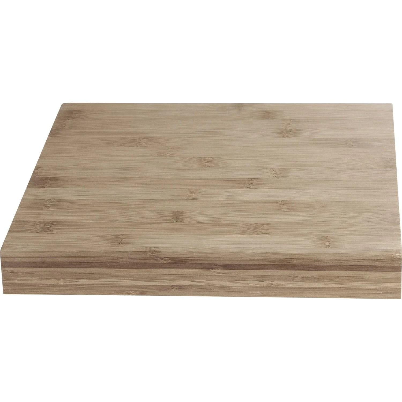 cuisine plan de travail bois massif