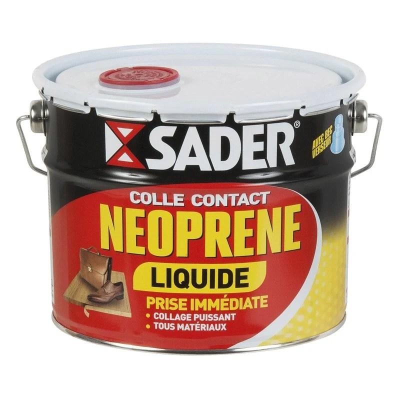 Colle néoprène contact gel Sader - Boîte métal avec ...