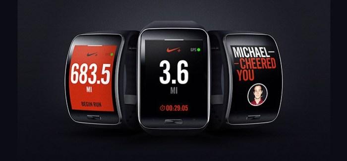 Nike+ arrive dans la nouvelle montre Samsung Gear S