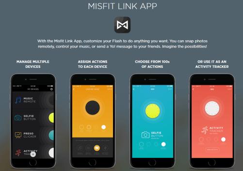 Misfit-Link App