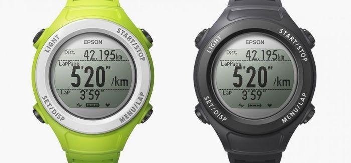 Epson SF-110, la dernière montre gps d'Epson