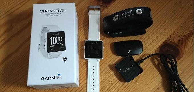 Test de la Vivoactive, la smartwatch de Garmin