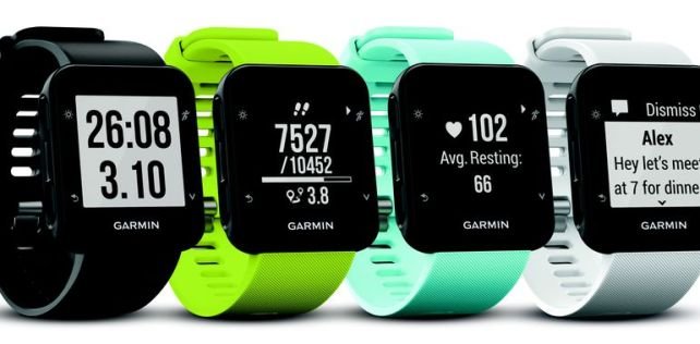 Test de la Garmin Forerunner 35, la montre cardio à moins de 200 euros