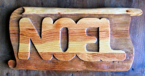 Sculpture Facile Sur Bois NOEL