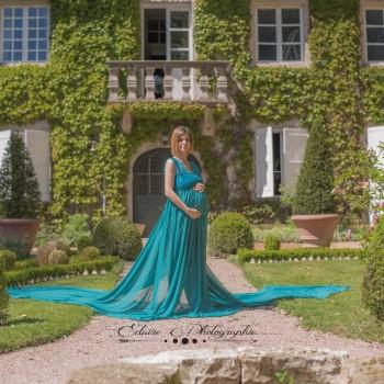 Création robe bustier dentelle modèle Céline