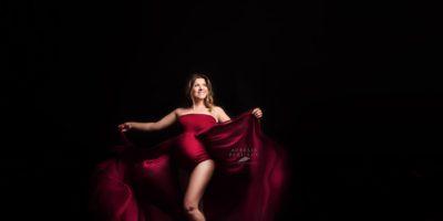 Création robe bodysuit modèle Tulipe for fine art photographies
