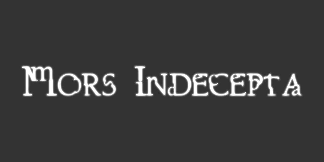 Mors Indecepta – Bandeau 2
