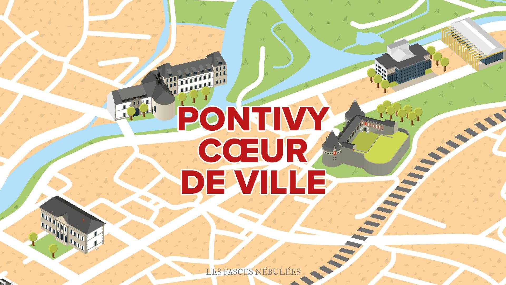 Pontivy  Cœur de ville