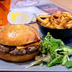 Burger Butcher avec frites