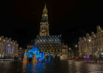 Place des héros Arras Noel