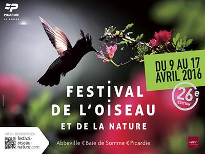 26e édition du Festival de l'Oiseau et de la Nature en Baie de Somme