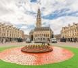 place des heros beffroi pour les 100 ans de la Bataille d'Arras