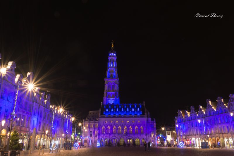 Beffroi en couleurs Arras