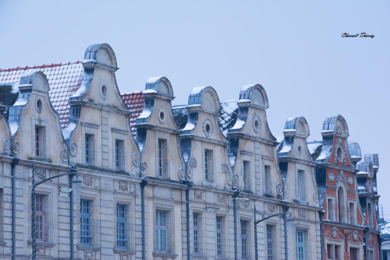 Arras sous la Neige