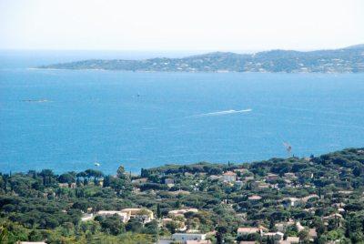 Vue terrasse Saint-Tropez