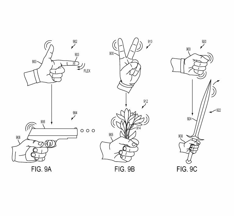 Un gant virtuel pour remplacer la manette