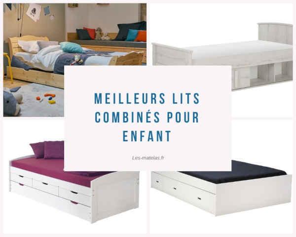 lits enfant avec tiroir de rangement