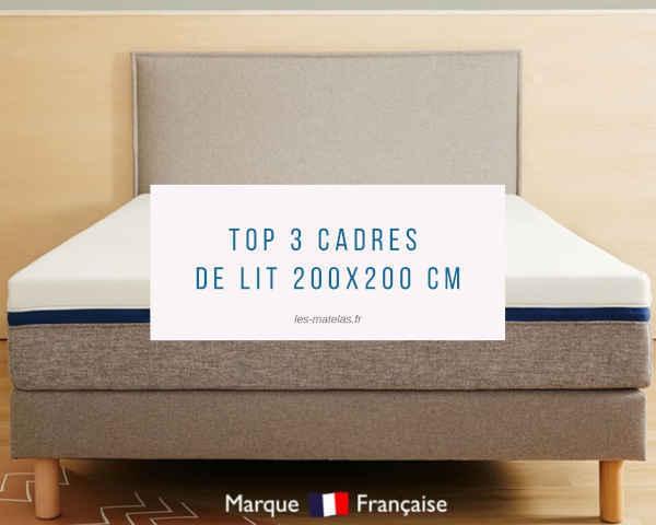 cadres de lit 200x200 cm