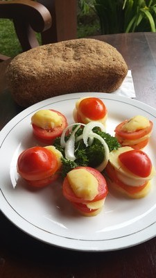 10 recettes rapides pour un apéritif convivial. Croque tomate