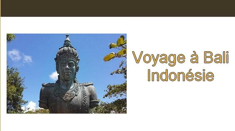 Voyage à Bali, Indonesie