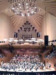 Sydney, Océanie, la terre promise de l'Océan indien. Salle de concert à l'opéra