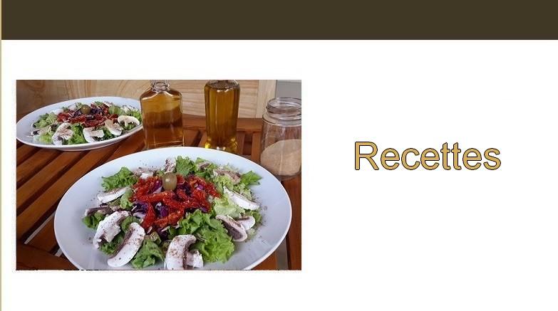 Végétarisme. Recettes
