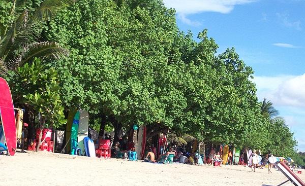 Bali plage : le sud, Kuta, Seminyak, Tanah Lot, Sanur. Kuta plage