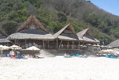 Bali plage : la péninsule, Jimbaran, Bukit, Nusa Dua. Finn's club beach