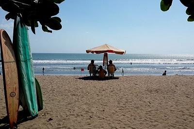 Bali plage : le sud, Kuta, Seminyak, Tanah Lot, Sanur. Kuta