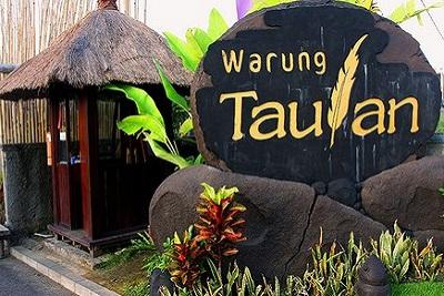 Bons plans à Bali : le warung, brasserie façon asiatique. Warung Taulan
