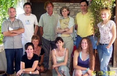 Auvergne Végétarienne Attitude : aventure chez les gaulois. Photo de groupe