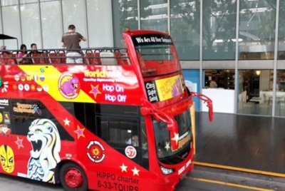Dernier jour à Singapour : de découvertes en amitié. The bus