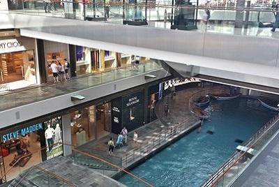 Dernier jour à Singapour : de découvertes en amitié. Centre commercial marina bay