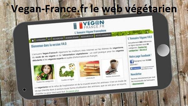 article vegan france annuaire végétarien