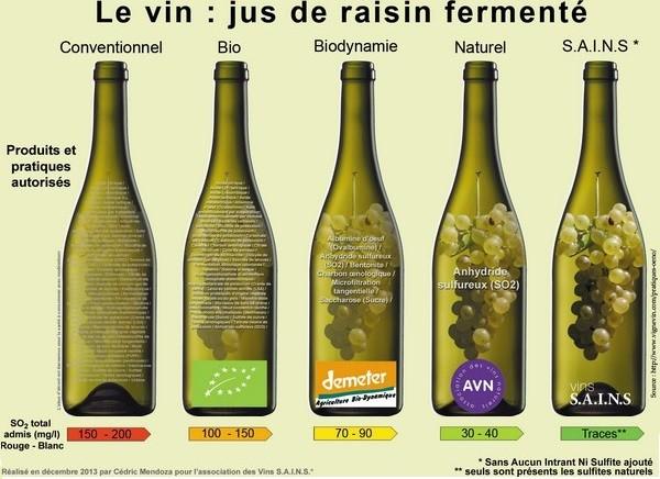 Affiche de Cédric Mendoza pour l'association des Vins SAINS en 2013