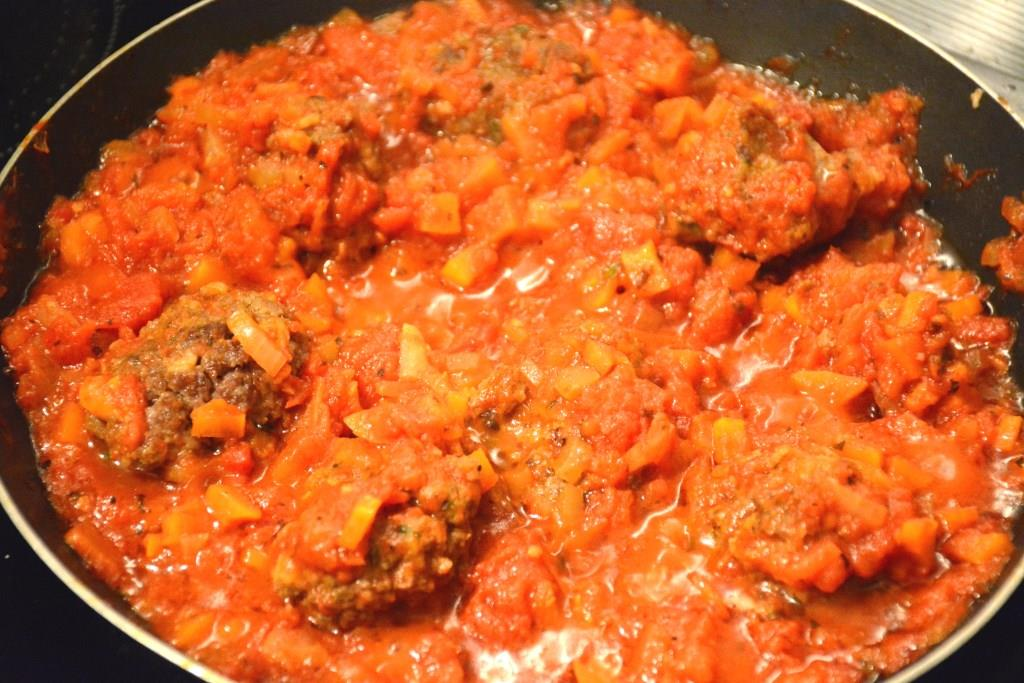 5. meatballs et sauce tomate