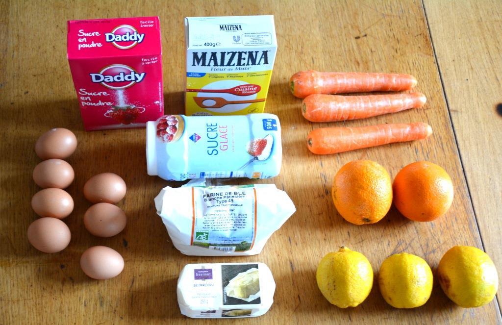 1. ingredients tarte ACE