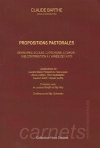 Propositions pastorales