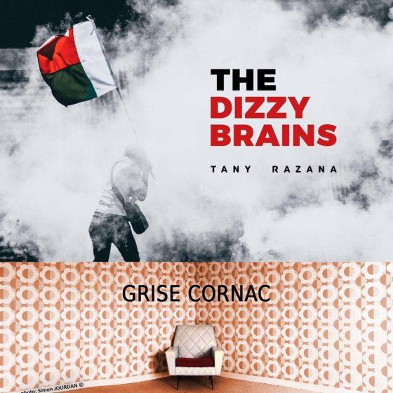 pochette Dizzy brains & Grise cornac