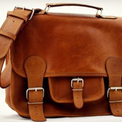 Cartable-Cuir-Vintage-Retro-Sac-cuir-bandoulire-sign-Paul-Marius-Collection-M-0