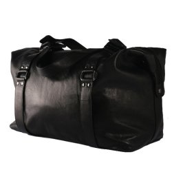 BACCINI-sac-de-voyage-VINCERA-bagage--main-en-cuir-sac-bandoulire-weekend-noir-50-x-32-x-15-cm-0