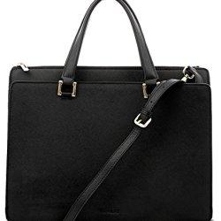 BOVARI-sac--main-sac-port-paule-Victoria-cuir-de-veau--imprim-saffiano-39x29x13cm-noir-0