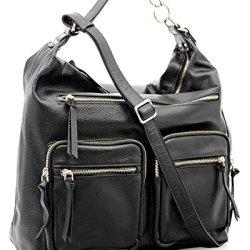 BOVARI-sac-bandoulire-sac-port-paule-en-cuir-Reporter-Bag-36x34x16-cm-couleur-noir-0