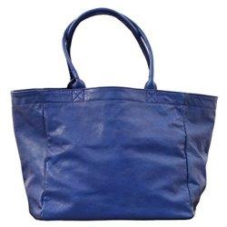 MON-PARTENAIRE-M-Bleu-lectrique-cabas-en-cuir-sac--main-style-vintage-PAUL-MARIUS-0